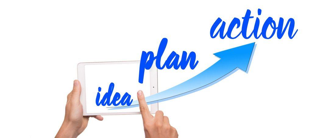 Tener un plan de acción es importante